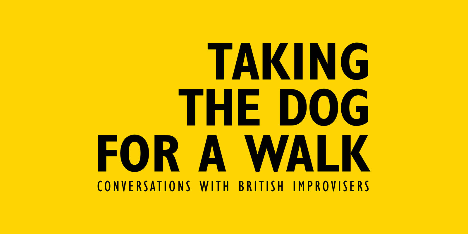 Taking the Dog for a Walk: World Premiere